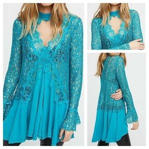 Free People New Tell Tale Heart Tunic Size XS